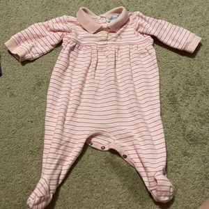 Polo stripped pajamas